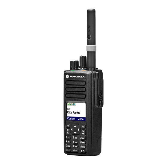 DP4801 PORTABLE TWO-WAY RADIO